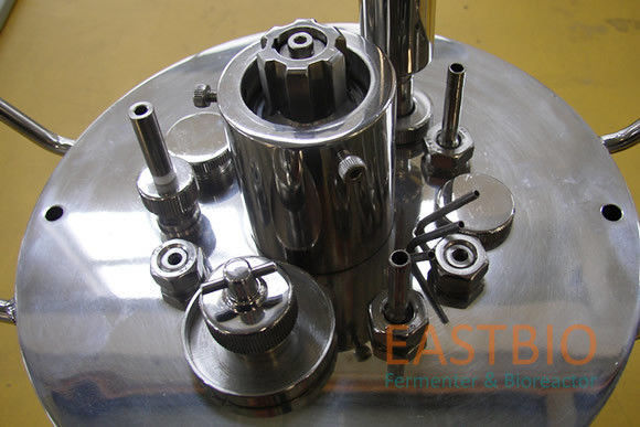 Jacketed Autoclavable Bioreactors Mechanical Stirred Glass Fermenter 3L/5L/7L